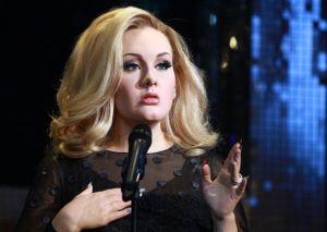 Adele - Waxwork Unveiling