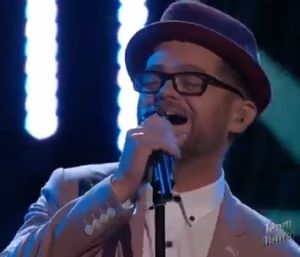 Indy's Own, Josh Kaufman, Performed Last Night on 'The Voice