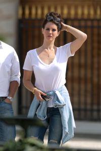 Lana Del Rey Sighting In Paris
