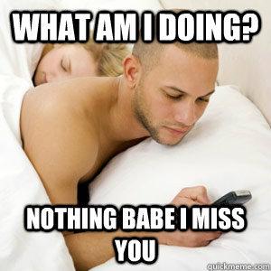 cheating text meme