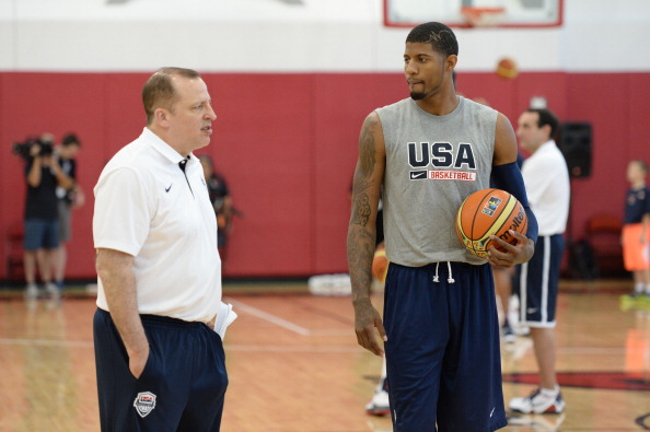 2014 USA Basketball Practice