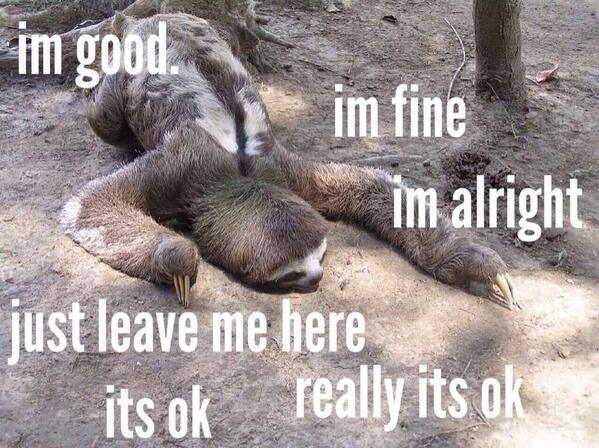 sloth depressed