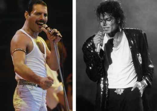 (FILE) Previously Unheard Duets Recorded By Freddie Mercury And Michael Jackson To Be Released