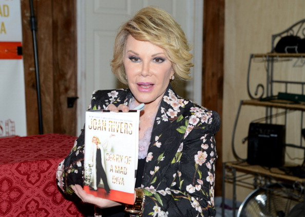 """Joan Rivers Signs Copies Of """"Diary Of A Mad Diva"""""""