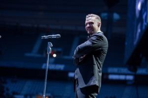 Justin Timberlake In Concert At  Stade de France