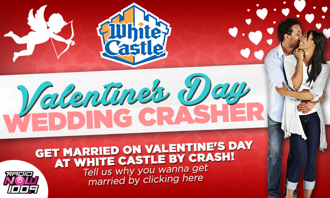white castle valentine's day wedding crasher | radionow 100.9, Ideas