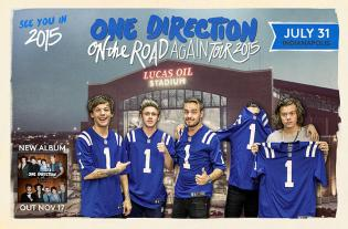 Register to win One Direction Tickets