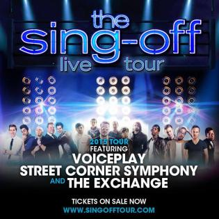 Register to win Sing Off: LIve Tour Tickets