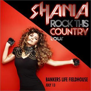 Register to win Shania Twain Tickets