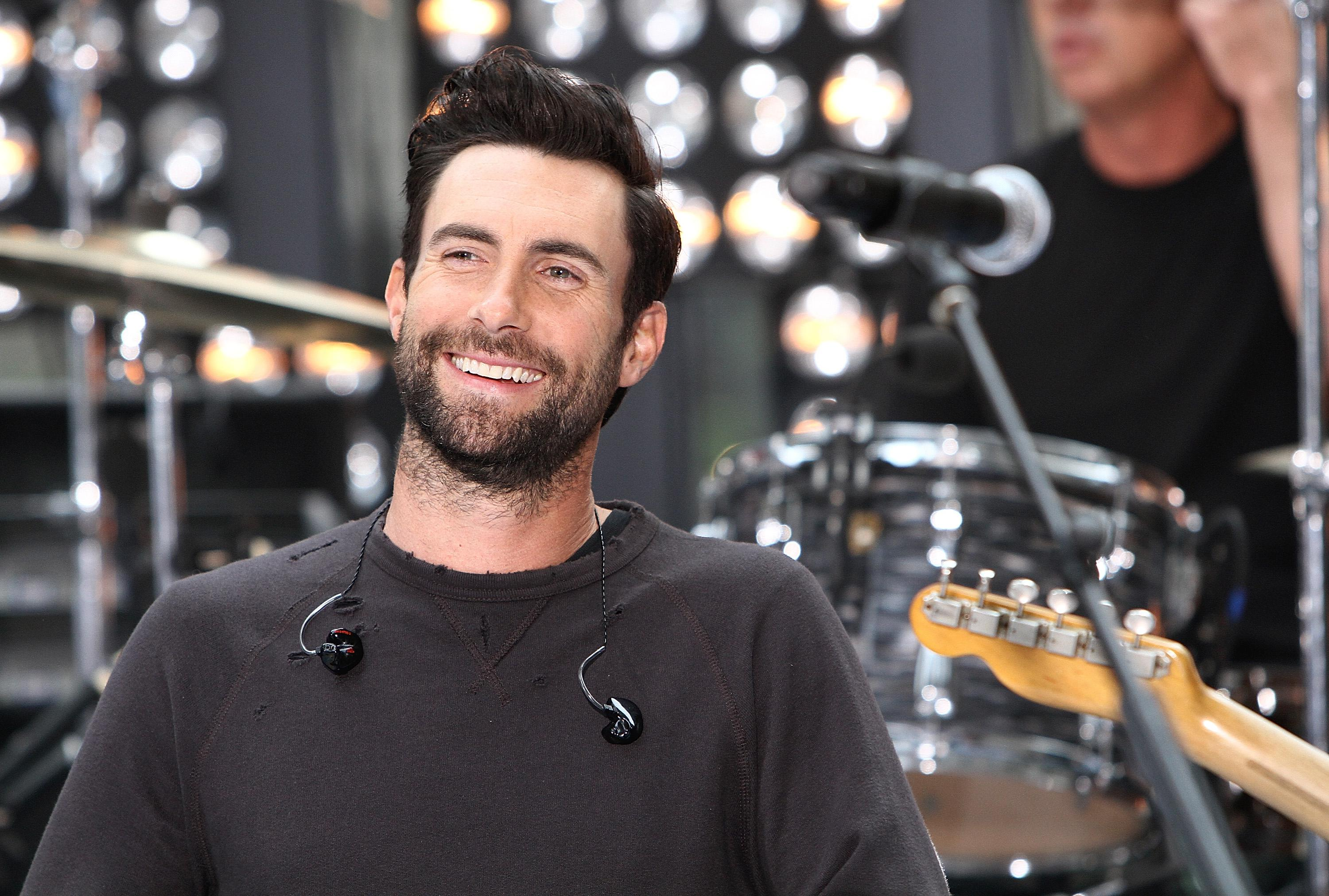 Maroon 5 Performs On NBC's 'Today'