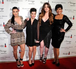 Grand Opening Of Kardashian Khaos At The Mirage Hotel & Casino