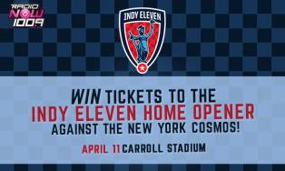 Register to win Indy Eleven Tickets