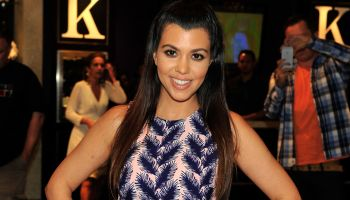 Kourtney Kardashian Meet-And-Greet At Kardashian Khaos Store At The Mirage