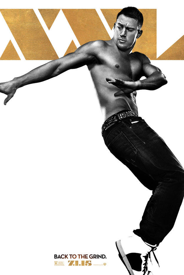 channing tatum Magic Mike XXL Movie Poster