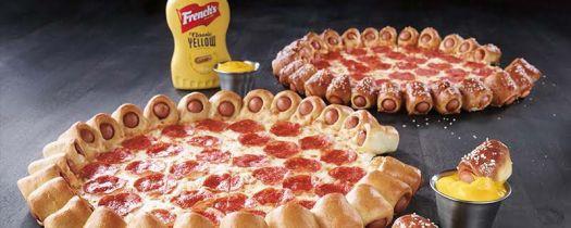 Hot Dog Bites Pizza