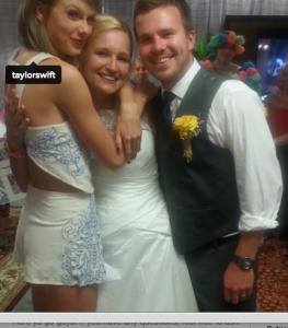 Taylor Swift Wedding In Parking Lot