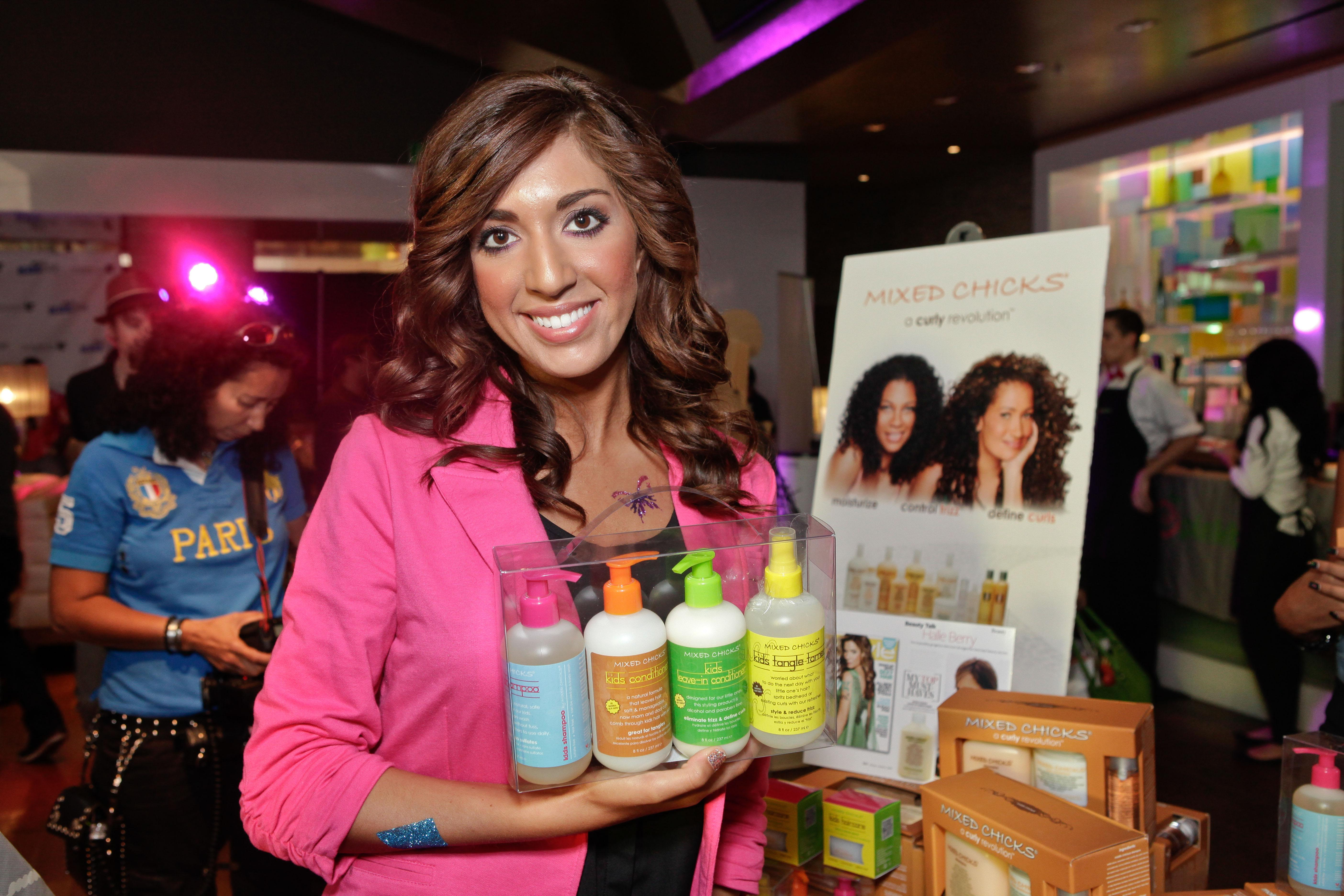 Mixed Chicks At KIIS FM / 987FM 2012 VMA Pre Party And Gifting Suite!
