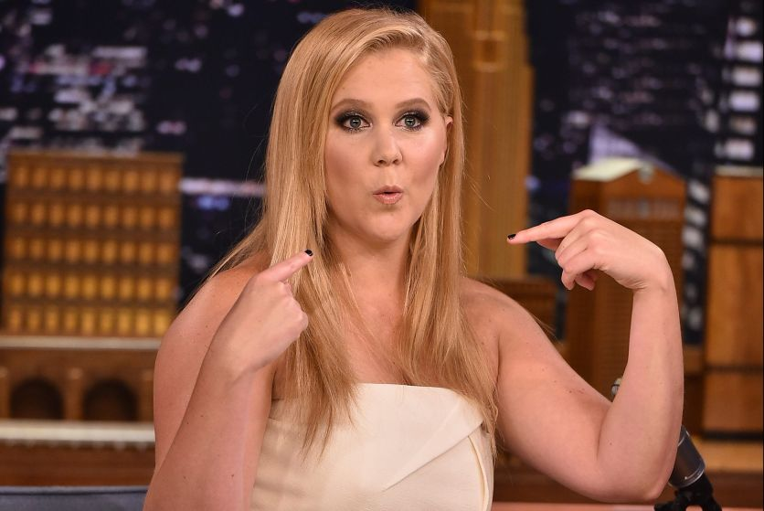 Amy Schumer Visits 'The Tonight Show Starring Jimmy Fallon'