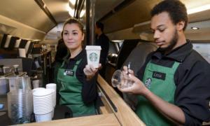 Starbucks employees