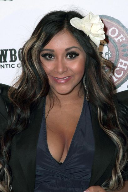 Nicole 'Snooki' Polizzi Appears At Showboat's Earl Of Sandwich Grand Opening Ribbon Cutting Ceremony