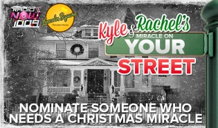 Kyle and Rachel's miracle on your street contest DL
