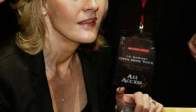 Author J.K. Rowling signs copies of her