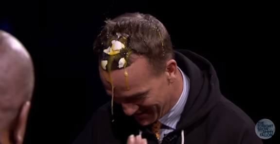 Peyton Manning on Fallon