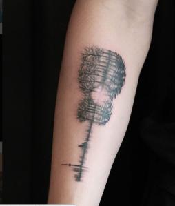 Shawn Mendes First Tattoo
