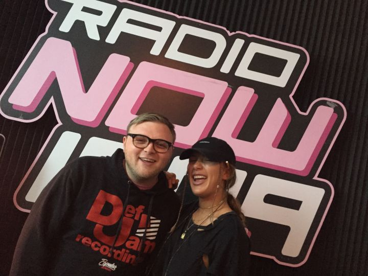 Niykee Heaton @ RadioNow With Buster