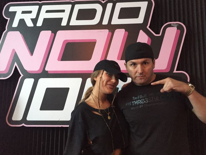 Niykee Heaton @ RadioNOw with DJ Orion