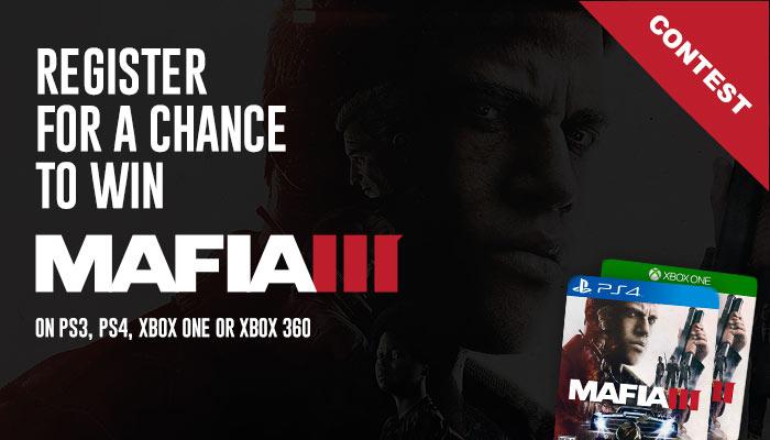Mafia III Video Game Online Giveaway