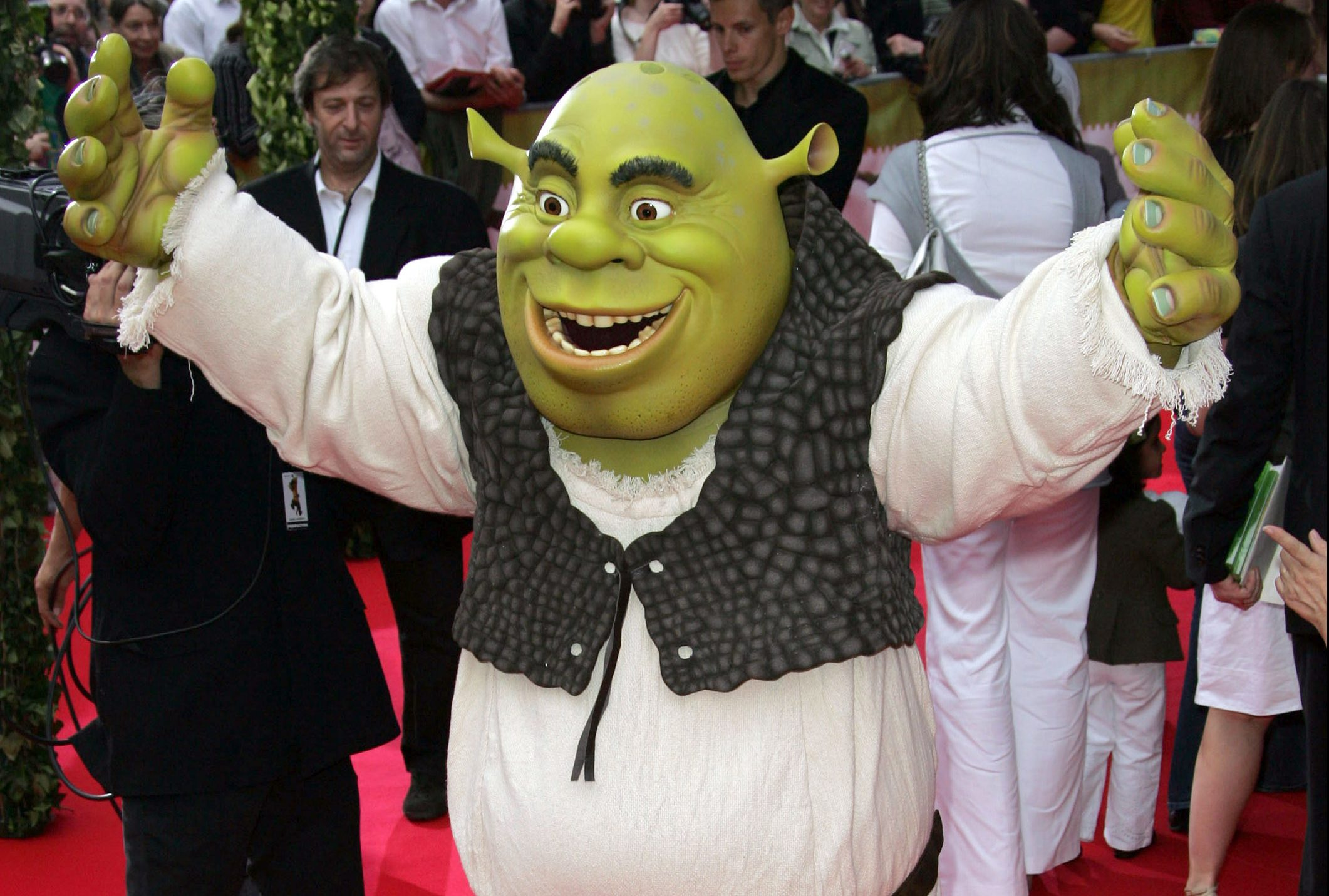 Shrek the Third - Paris Premiere