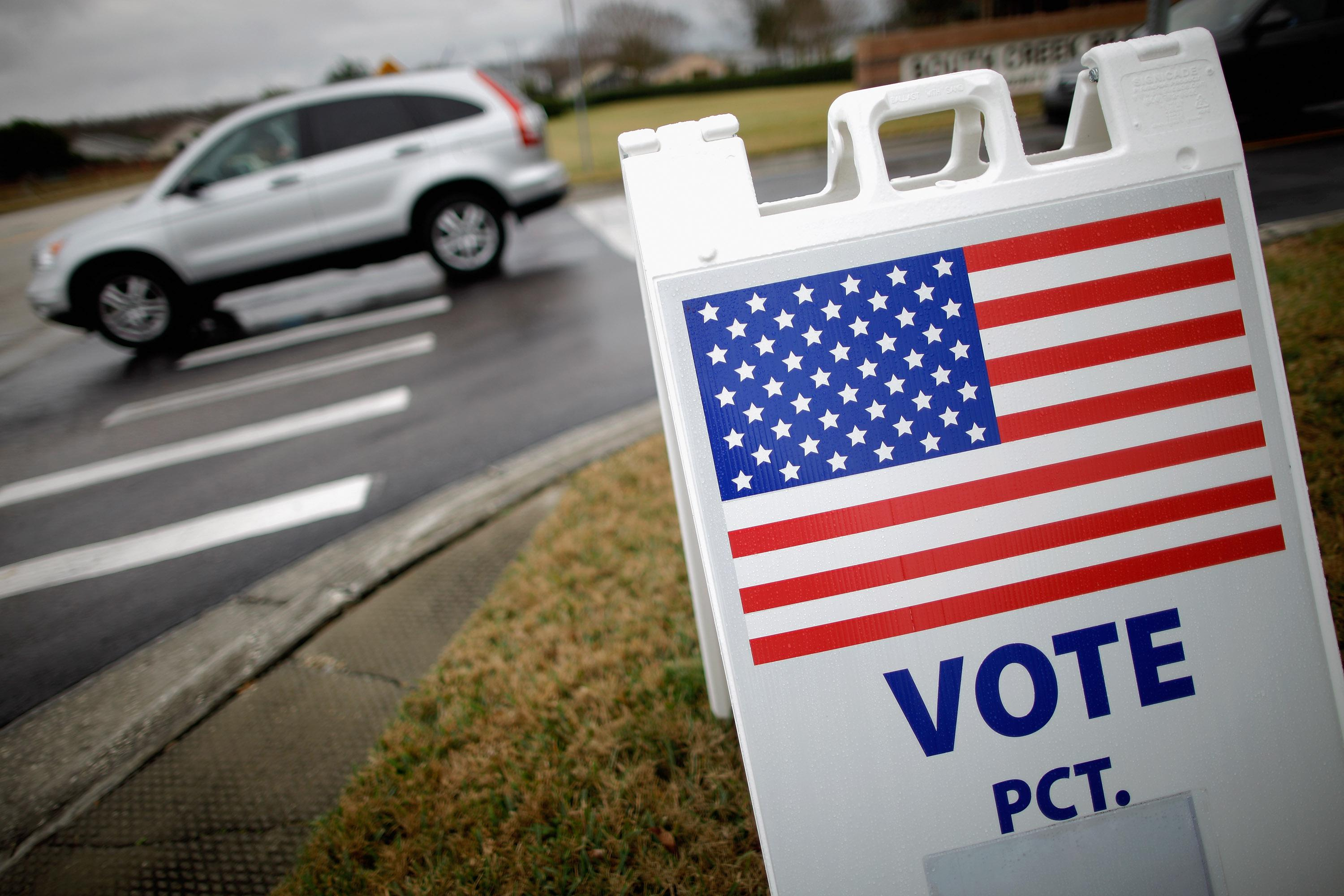 Early Voting Takes Place In Florida Ahead Of State's Primary