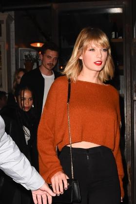 Celebrity Sightings in New York City - October 13, 2016