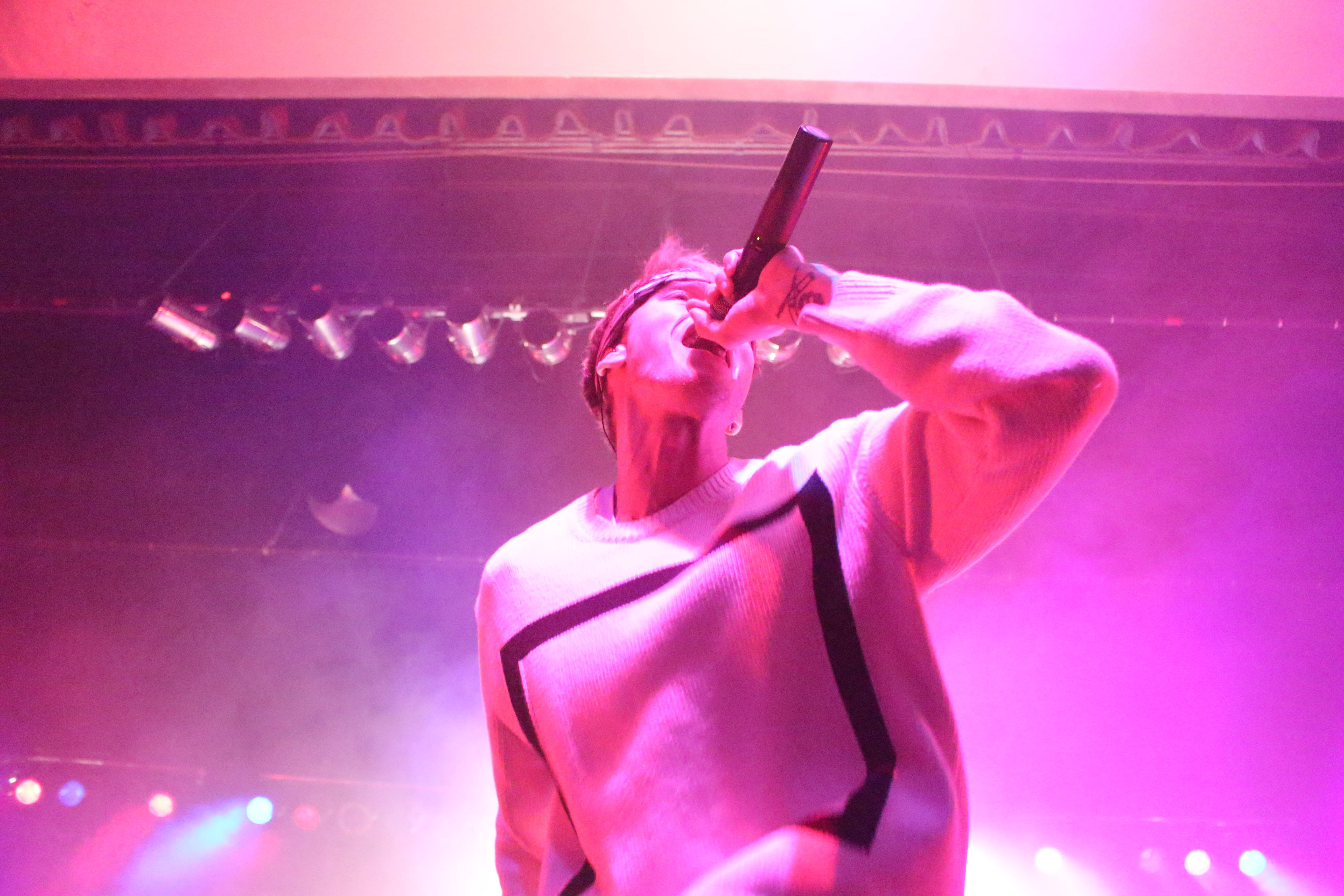 MGK In Indy