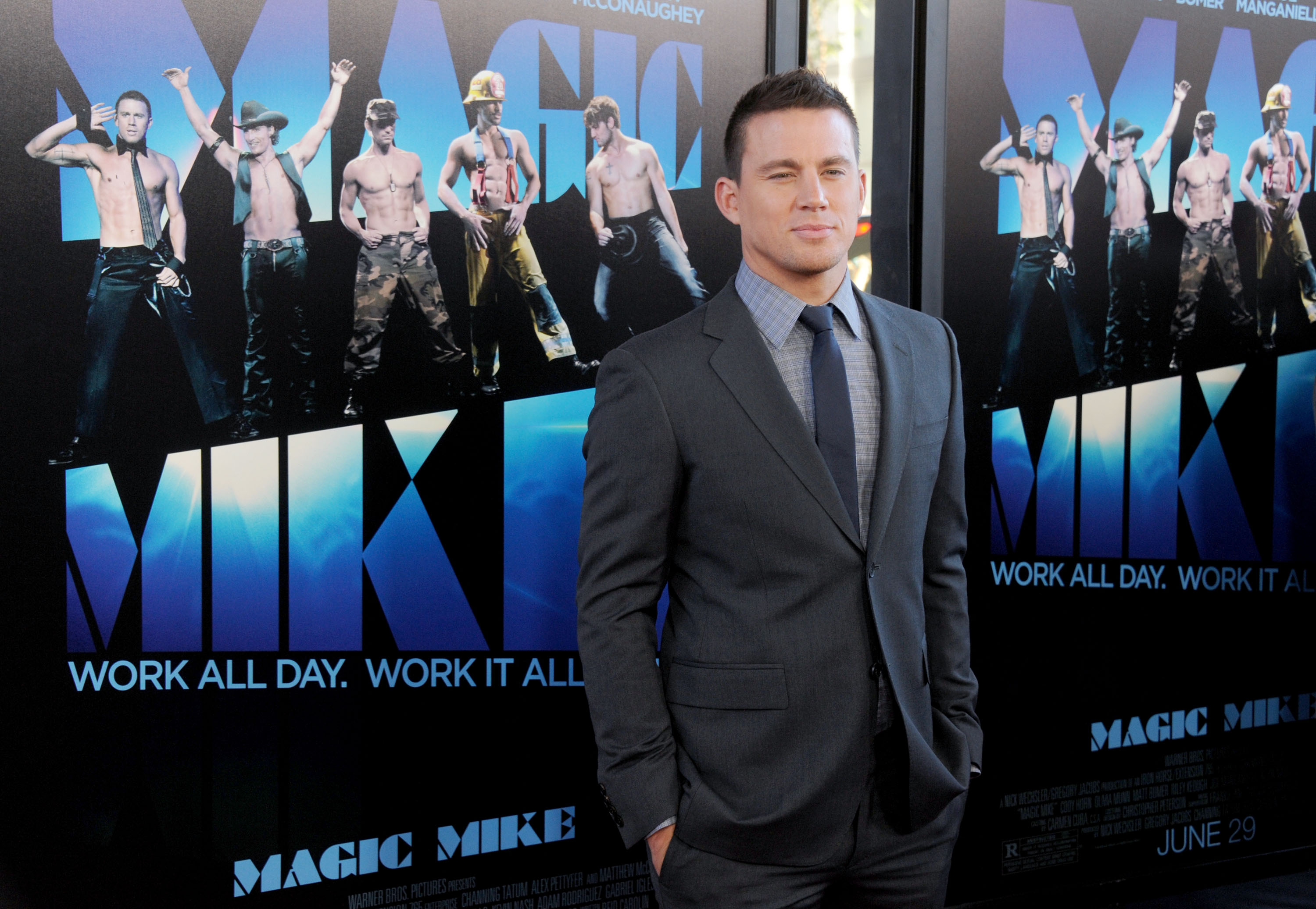 2012 Los Angeles Film Festival - Closing Night Gala Premiere 'Magic Mike' - Arrivals