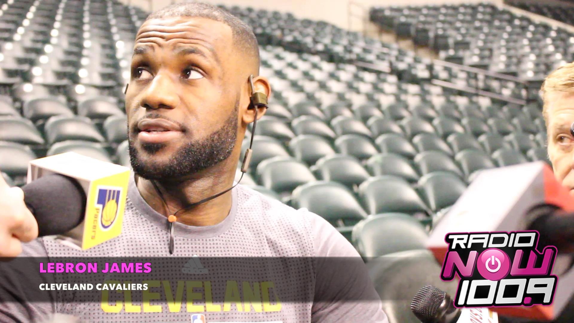 LeBron James - Cavs/Pacers