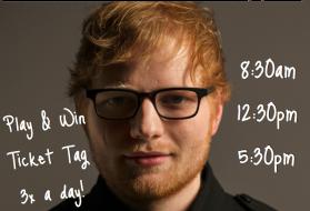 Ed Sheeran - Ticket Tag (Indy)