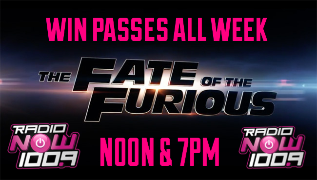 The Fate of the Furious Screening Flyer