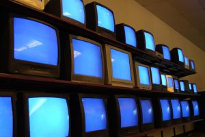 Televisions in store