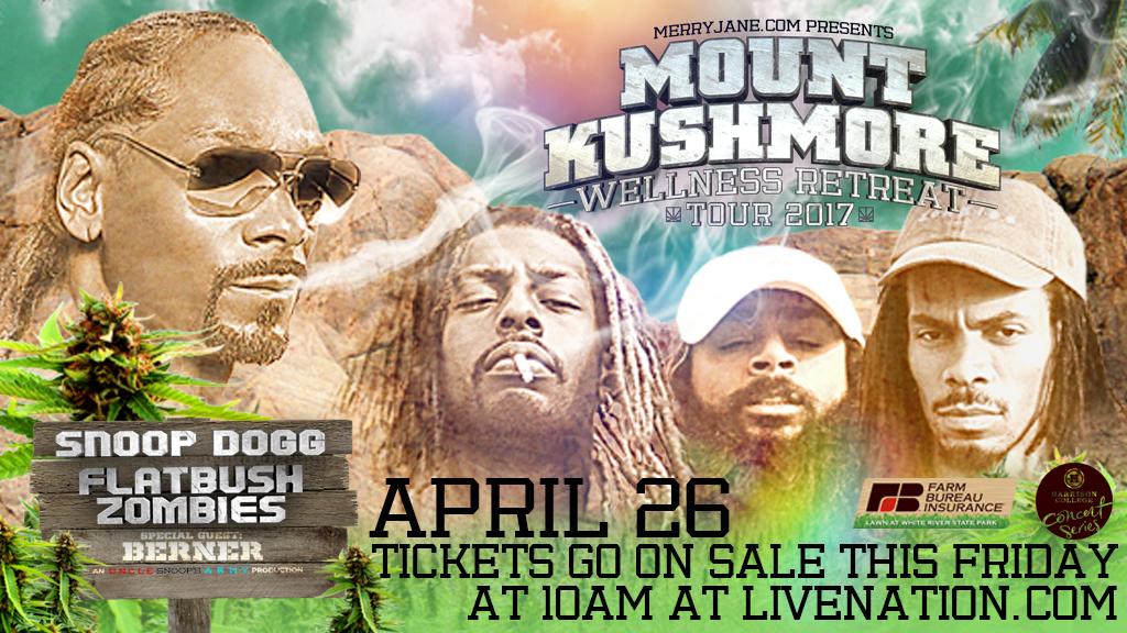 Snoop Dogg Concert Flyer - Indy
