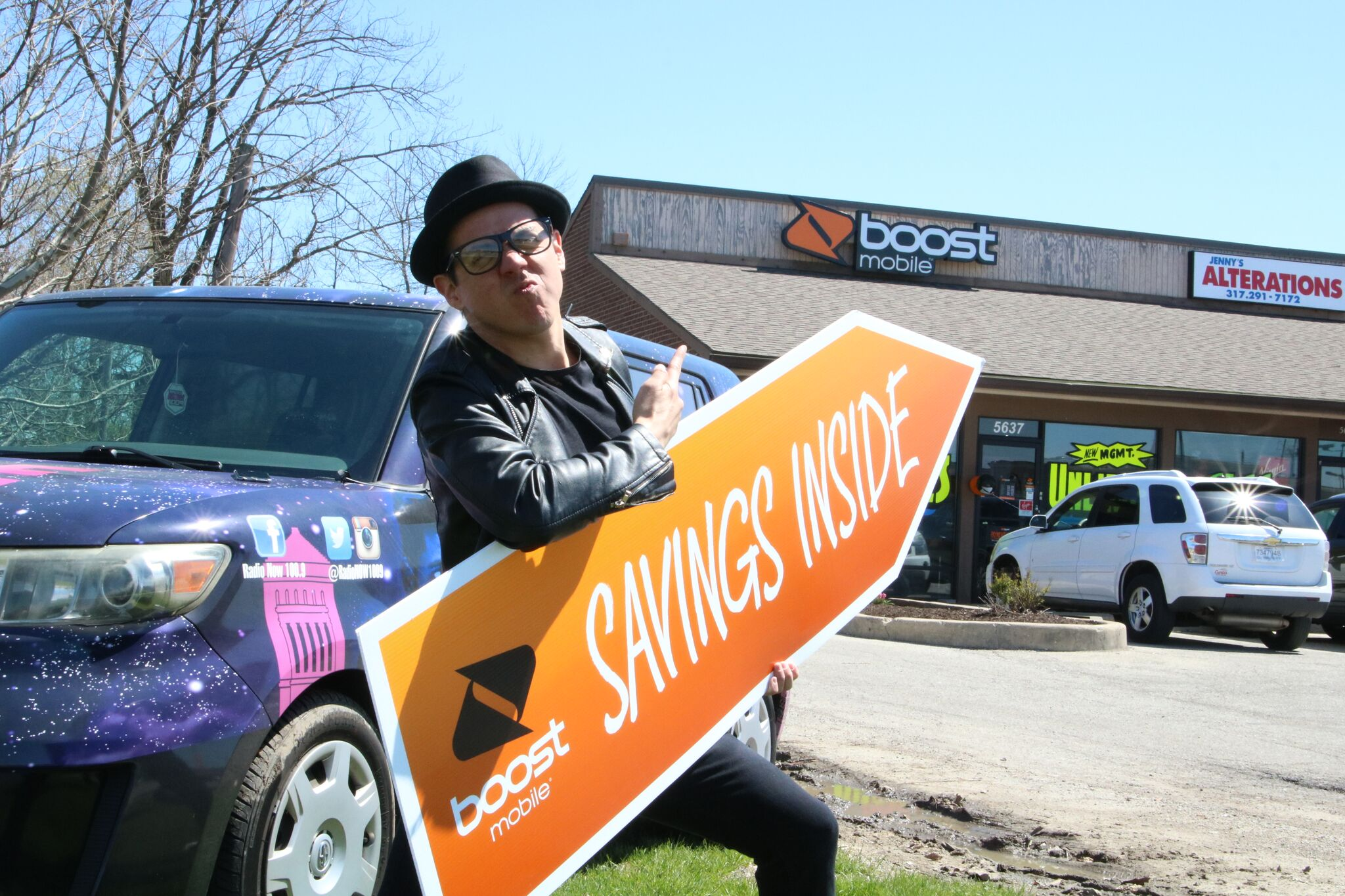 Boost Mobile - Radio Now 100.9