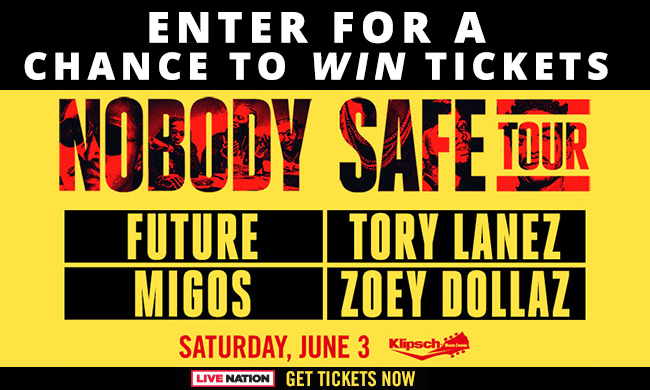 The Future Tickets online sweepstakes