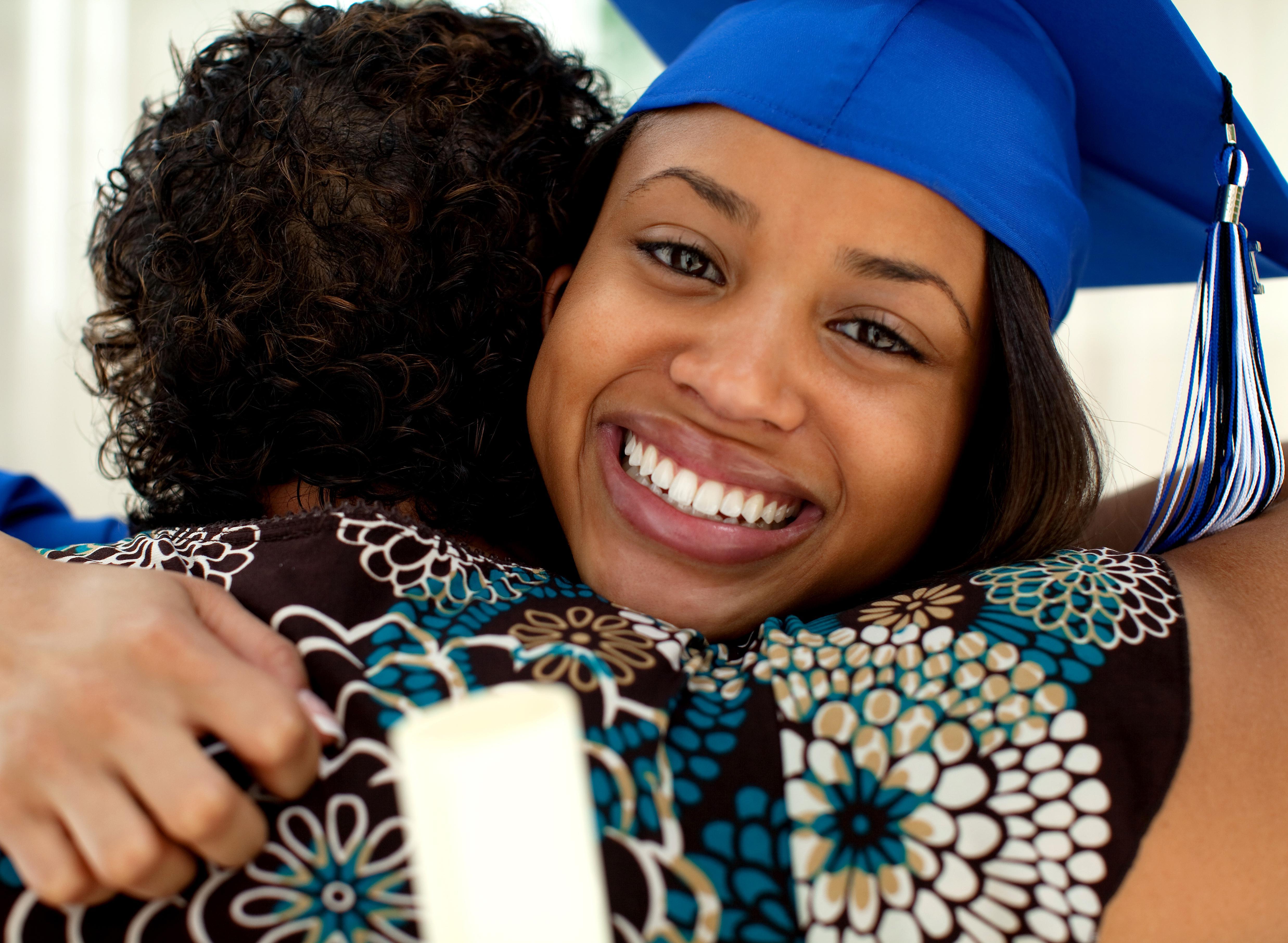 African American Female Graduate