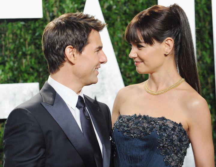 Tom Cruise & Katie Holmes Split (2012)