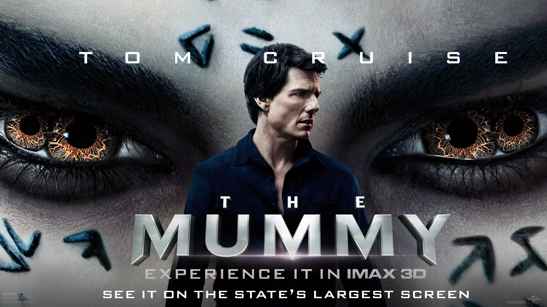 The Mummy IMAX 3D Flyer