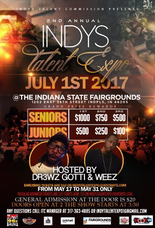 Indy Talent Expo Flyer