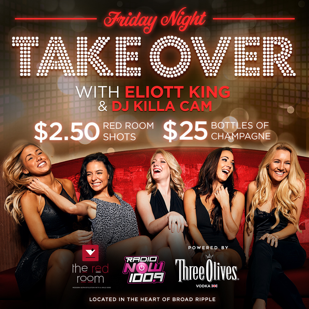 Friday Night Takeover (Red Room) Flyer