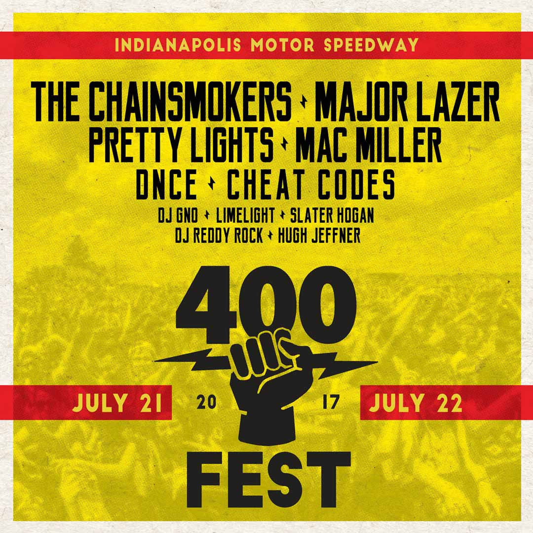 400 Fest Flyer - Indianapolis