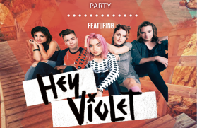 Hey Violet Event Flyer